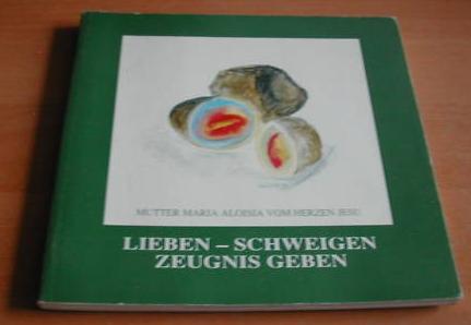 Obálka (1991) knihy o ní (vydal Karmel St. Josef, Innsbruck)