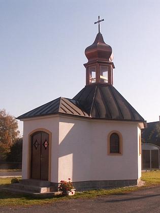 Novostavba Kolomanovy kaple ve Ždánově na snímku z roku 2018