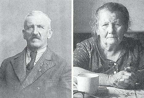 JJejí rodiče Friedrich a Theresia Fastnerovi