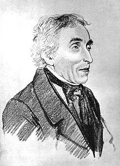 Na kresbě Oresta Kiprenského (1823)