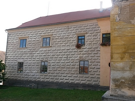 Sgrafita na chudenickém zámku (viz i Rudolf Czernin)