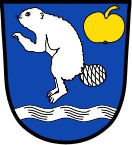Znak bavorského města Böbrach