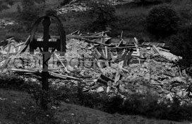 Zánik Jasánek s křížem...