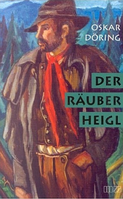 Obálka (2001) paperbackového vydání jeho románu v nakladatelství MZ Buchverlag