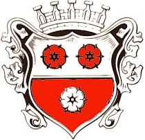 Znak hornobavorského města Moosburg and der Isar, kde zemřel a je i pochován