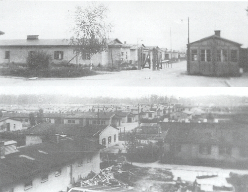 Začátky v Německu: baráky někdejšího zajateckého tábora v Moosburgu-Neustadt