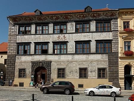 Stará radnice v Prachaticích dnes (2017)