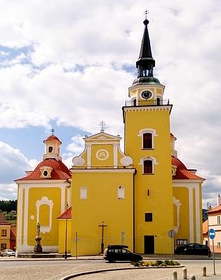 Kostel Zvěstování Panny Marie ve Vlachově Březí