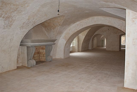 ...rekonstruovaná část zámku v roce 2010...