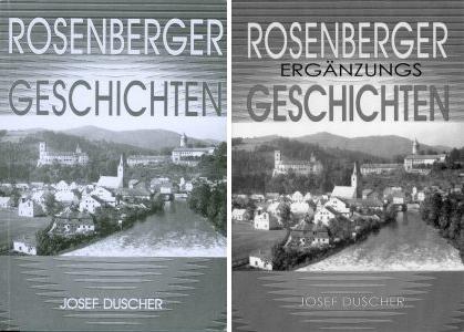 Obálky dvou jeho knih