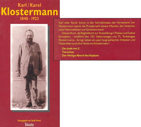 Obálka (1998, výřez) knihy vydané pasovským nakladatelstvím Stutz