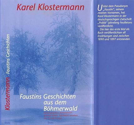 Obálka (2003) jím připraveného pasovského vydání Klostermanových povídek (nakladatelství Stuz)