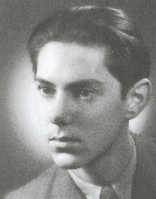 Na snímku z roku 1945