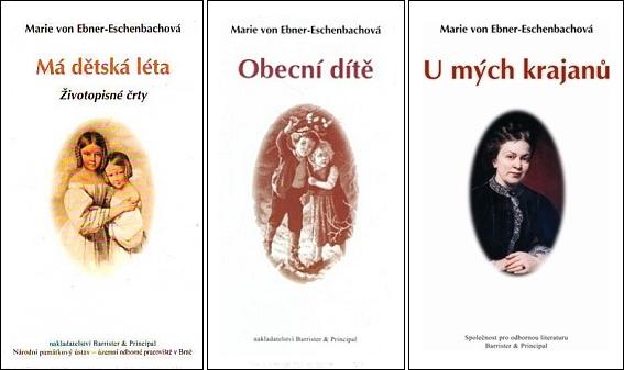 Knihy Marie Ebnerové z Eschenbachu v nových českých překladech v brněnském nakladatelství Barrister & Principal