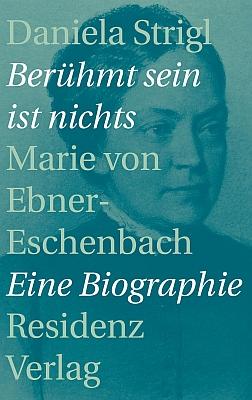 Obálka (2016) knihy o ní v salcburském nakladatelství Residenz Verlag