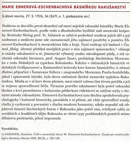 Obdivný text Arne Nováka