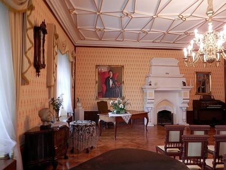 Interiér zámku