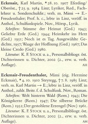 Jeho a manželčino heslo v německém literárním lexikonu