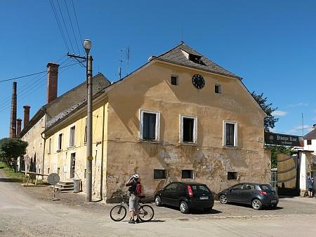 Pivovar v Koutu na Šumavě, který patříval Schönbornům