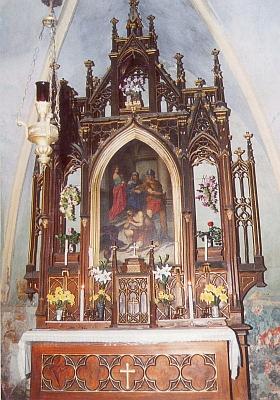 Hlavní oltář ...