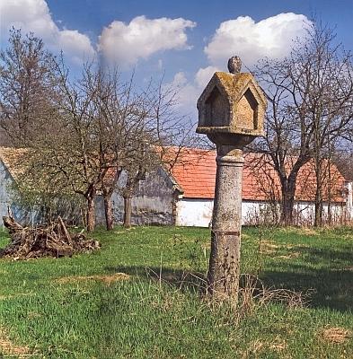 Boží muka v Klažarech (Glasern) blízko Žumberka