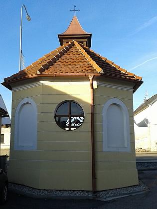 Kaple sv. Václava ve Vrátě v roce 2015