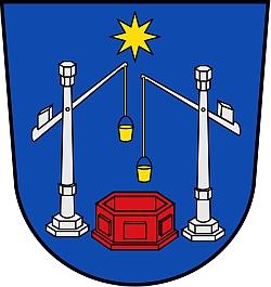Znak města Bad Salzuflen, kde zemřela