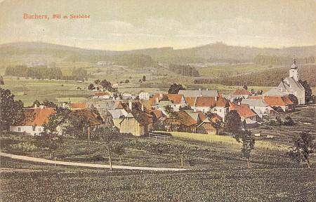 Pohoří na Šumavě, pohlednice (1910)