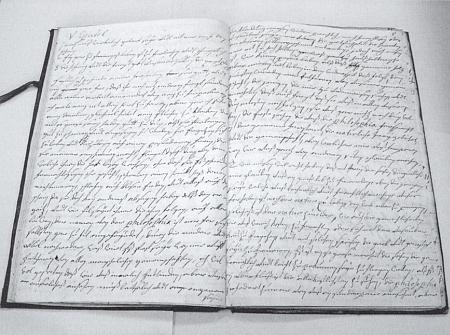 Rukopis jejích překladů ze Senecy