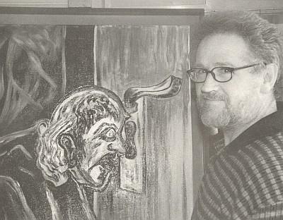 "Ilustrátor její knihy ""Am Wegrand gepflückt"" Josef Schneck"