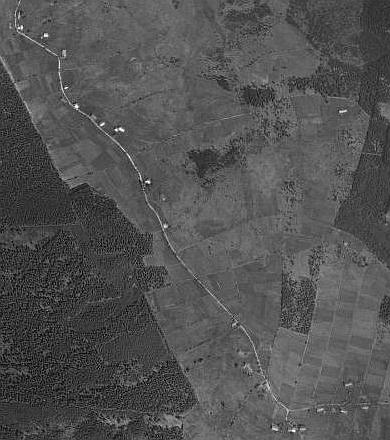 Zaniklé Stodůlky a Žďárek na leteckých snímcích z let 1949 a 2008