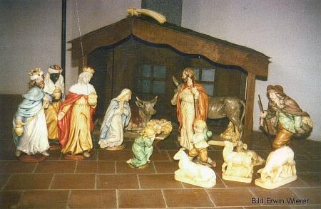 Jesličky ve farním kostele