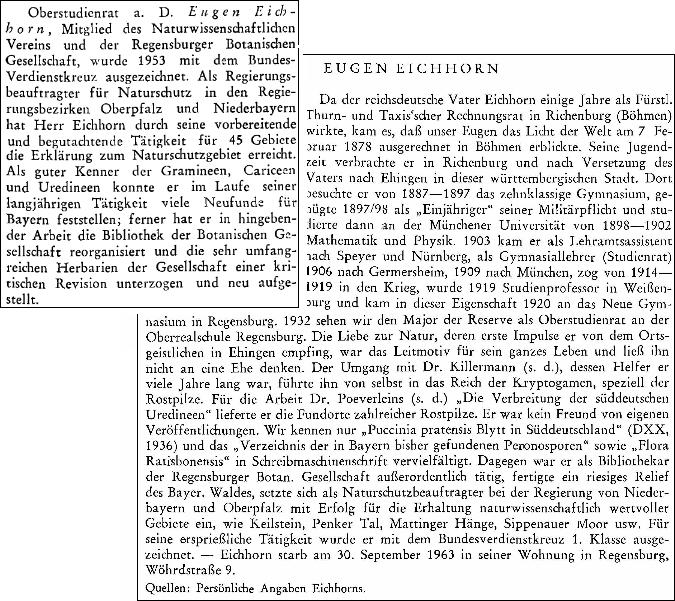Jeho krátké životopisy na stránkách sborníku Acta Albertina Ratisbonensia