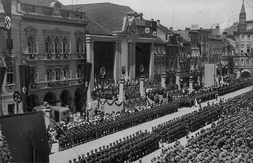 Takto vypadalo ten den českobudějovické náměstí...