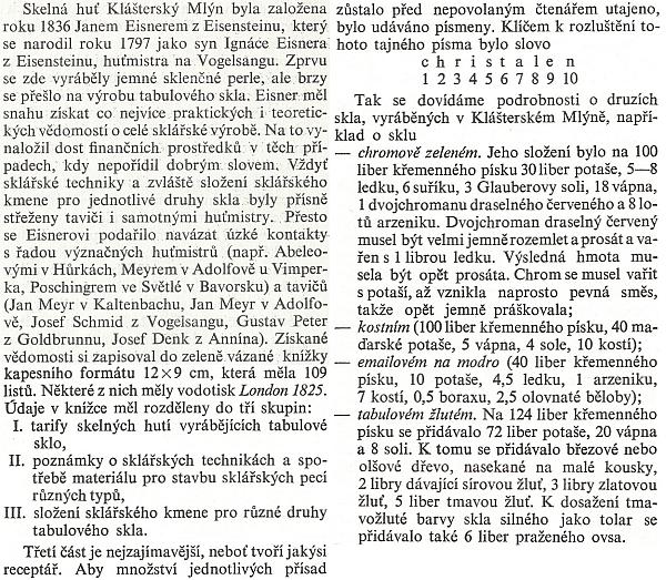Historie sklářského rodu Eisnerů (Eissnerů) z Eisensteinu je dlouhá a slavná