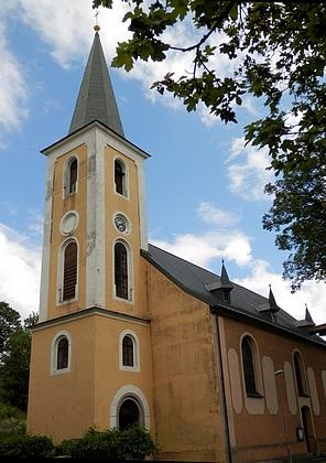 Kostel sv. Anny v rodném Perninku