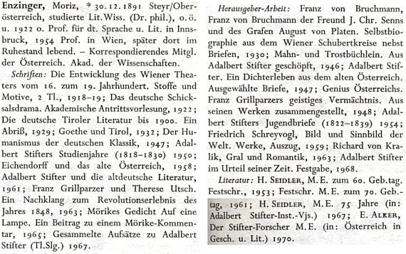 Jeho heslo v německém literárním lexikonu