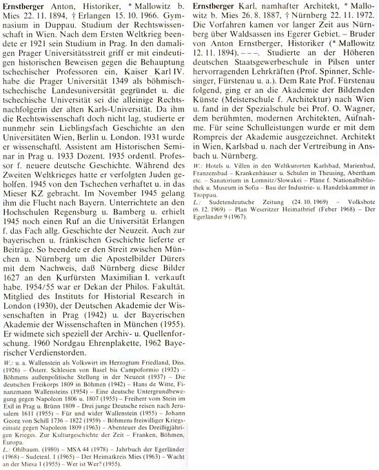 ... a v biografickém lexikonu osobností z Chebska