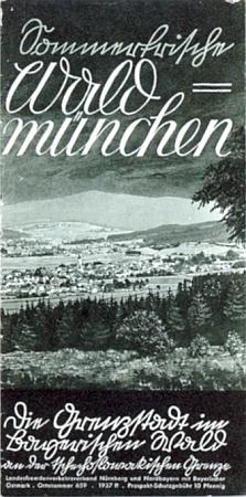 "Prospekt na ""letovisko"" Waldmünchen"