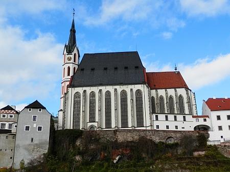 Pokřtěn byl v českokrumlovském chrámu sv. Víta