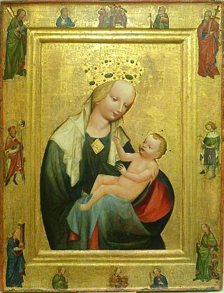 Ještě před Fabriho narozením (kolem roku 1410) vznikl obraz Madony svatotrojické, který se v 19. století dostal špitálního kostela