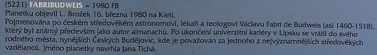"""""""Plotová výstava"""" u českobudějovické hvězdárny v roce 2020 připomněla i planetku, která je po něm pojmenována"""