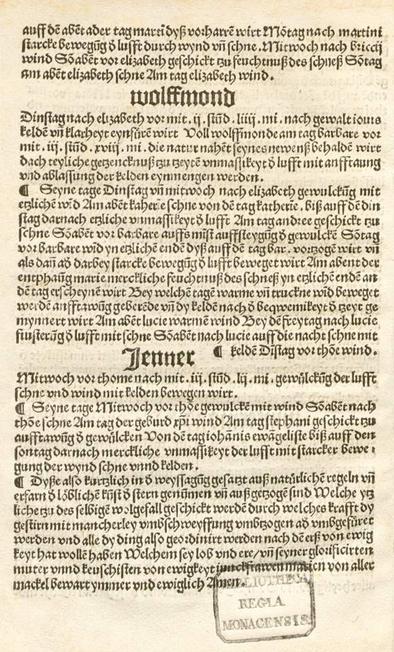 Stránka jeho spisu Practica s citovanou větou na konci