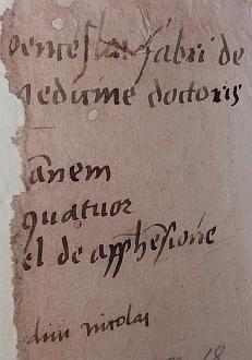 Vlastnické záznamy v knihách z jeho knihovny, ten vpravo se dochoval neúplný