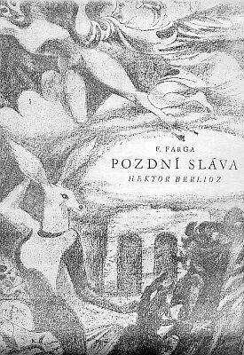 Obálka jeho knihy v pražském Orbisu 1945 s kresbou Josefa Noska