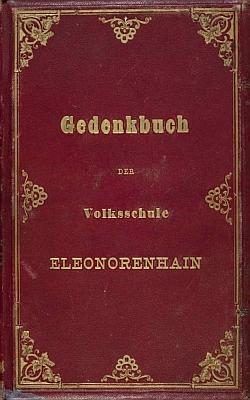 Vazba kroniky lenorské německé školy