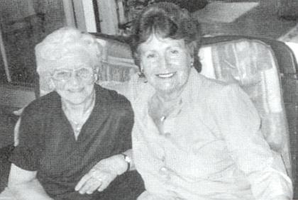 S paní Elfriede Holubovou, roz. Pranghoferovou z Horní Plané