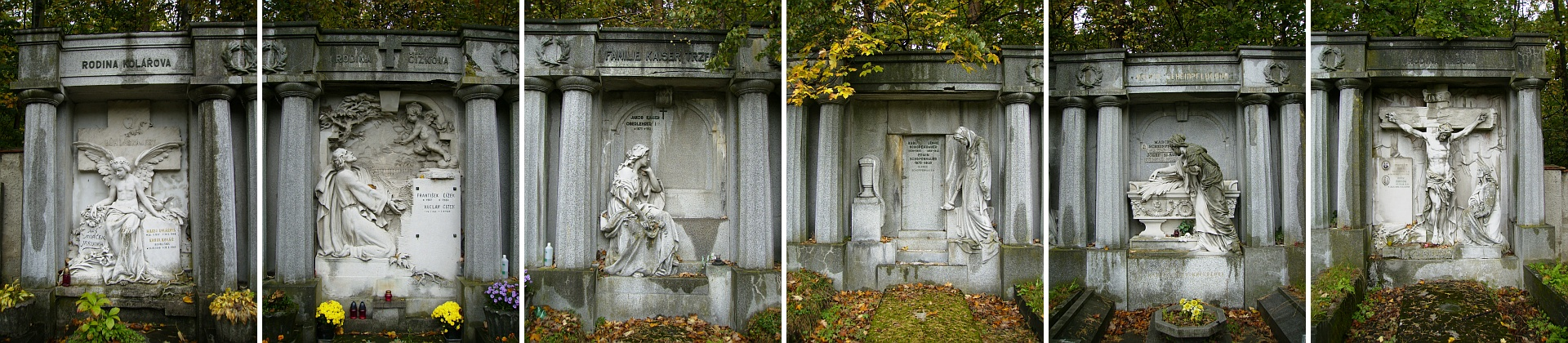 Schopenhauerovy náhrobky na dobrovodském hřbitově jsou unikátní památkou