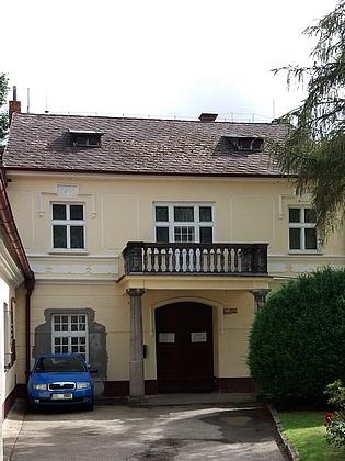 Dům rodiny Schopenhauerovy na Dobré Vodě u Českých Budějovic