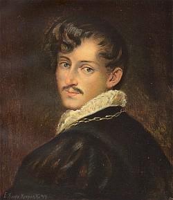 Svobodný pán Joseph von Eichendorff v mladém věku...